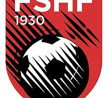 Crest of the Albanian National Football Team  by abbeyz71