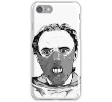 Hannibal Lecter Art iPhone Case/Skin