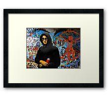 Mona L aka Foxy Lisa Framed Print