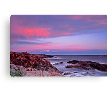 Boat Harbour Sunset Spectacular Canvas Print