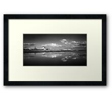 Lytham Becalmed - Lytham St Annes, Lancs, UK Framed Print
