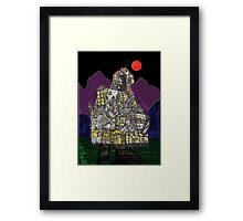 Haunted House Hill Framed Print