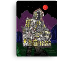 Haunted House Hill Canvas Print