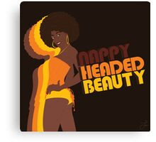 """Nappy Headed Beauty"" Canvas Print"