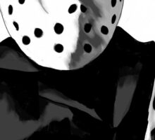 Jason Friday the 13th Horror Movie Art Sticker