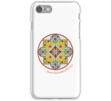 Buddhist Mandala n1 iPhone Case/Skin