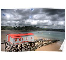 Tenby Lifeboat House 2 Poster