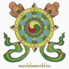 Buddhist Mandala n3 by Mandala's World