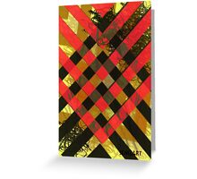 Military Stripes Greeting Card