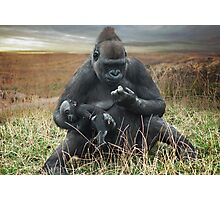 Joys of motherhood Photographic Print