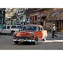Rush hour, Havana, Cuba Photographic Print