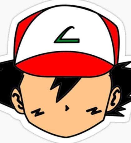 Simple Ash Sticker