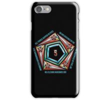 Law of Fives, Discordian Tee iPhone Case/Skin