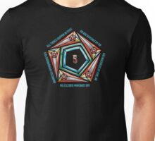 Law of Fives, Discordian Tee Unisex T-Shirt