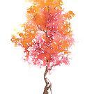 Little Zen Tree 428 by Sean Seal