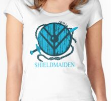 shieldmaiden t-shirt Women's Fitted Scoop T-Shirt