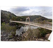 Cataract Gorge Swing Bridge Poster