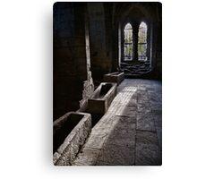 The Crypt Canvas Print