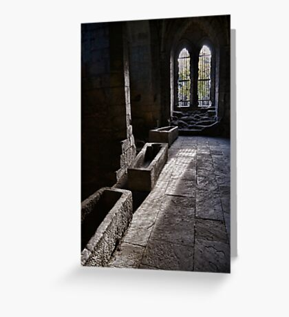 The Crypt Greeting Card