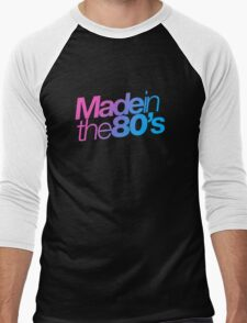 Made in the 80s - Helvetica Men's Baseball ¾ T-Shirt