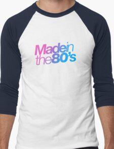 Made in the 80s - Helvetica Men's Baseball ¾ T-Shirt
