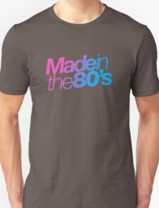 Made in the 80s - Helvetica Unisex T-Shirt