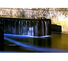 Weir On Grand Union Canal Photographic Print