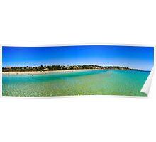 Frankston Beach Panorama Poster