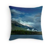 Valley Storms Throw Pillow