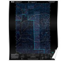 USGS Topo Map Washington State WA Red Top Mountain 243401 2003 24000 Inverted Poster