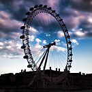 London eye by Dean Messenger
