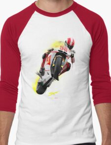 Marco Simoncelli 1987-2011 Men's Baseball ¾ T-Shirt