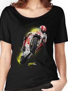 Marco Simoncelli 1987-2011 Women's Relaxed Fit T-Shirt