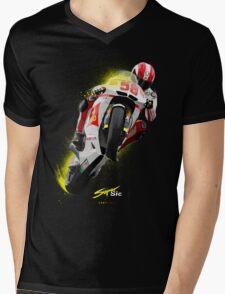 Marco Simoncelli 1987-2011 Mens V-Neck T-Shirt