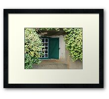 Now you see me. Framed Print