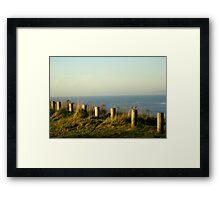 By Workington Sea    Framed Print