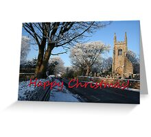 Cardross Christmas Card Greeting Card