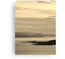 The Sound of Sleat Canvas Print
