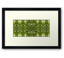 leaves an impression 2.0 Framed Print
