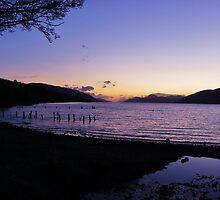 Loch Ness sunset by caledoniadreamn