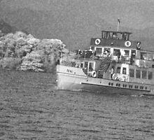 Riverboat Teal by BadIdeaArt