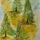 Christmas Trees by Pamela Hubbard