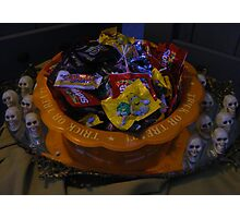 Trick or Treat??? Photographic Print