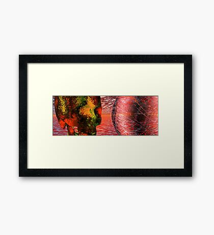 To Be Or Not To Be #1 // Hamlet Framed Print