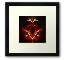 Amor Salvator Est Framed Print