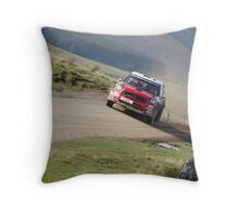 sweet lamb stage by alison jenkins Throw Pillow