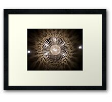 Lights from the Fairmont. Framed Print