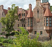 Well Court, Dean Village, Edinburgh, Scotland. by asm1