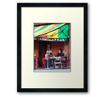 Tortilla Flats Greenwich Village Framed Print