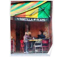 Tortilla Flats Greenwich Village Poster